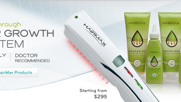 HairMax LaserComb Hair Growth System Review