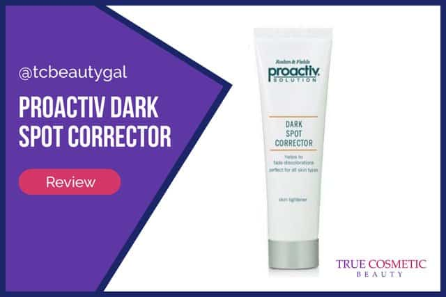 Proactiv Dark Spot Corrector review