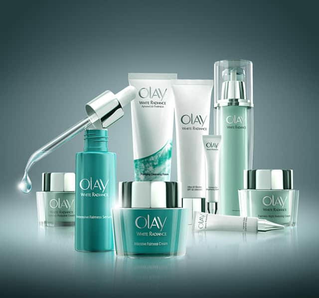 Olay White Radiance Skin Whitening Products