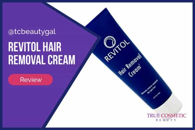 Revitol (now Lucent Skin) Hair Removal Cream Details and Review
