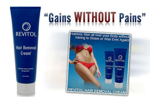 Revitol Hair Removal Cream Details and Reviews