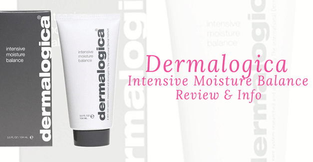 Dermalogica Intensive Moisture Balance Reviews & Info