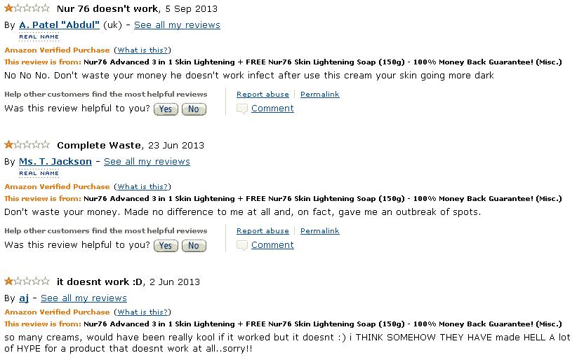 Nur76 Reviews Amazon