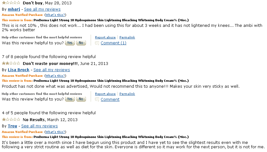 ProDerma Light Reviews Amazon