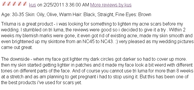 Tri-Luma Cream Reviews MakeupAlley