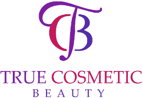 true cosmetic beauty logo